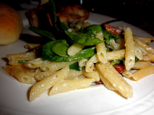 ... Rachel » Blog Archive » Penne with Spinach, Pancetta, and Mascarpone